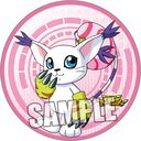 "Digimon Adventure Magnet Sticker ""Gatomon"" /"