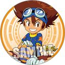 "Digimon Adventure Magnet Sticker ""Taichi (Tai Kamiya)"" /"