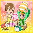 "Digimon Adventure Micro Fiber Mini Towel ""Takeru (T.K. Takaishi) & Hikari (Kari Kamiya)"" /"