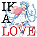 "TV Anime ""The invader comes from the bottom of the sea!"" Image Song Album Ika Love"