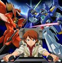 """Mobile Suit Gundam AGE (Anime)"" Outro Theme: WHITE justice [Animation Side]"