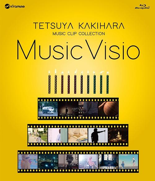 """Kakihara Tetsuya Music Clip Collection Blu-ray Disc """"Music Visio"""" / Tetsuya Kakihara"""