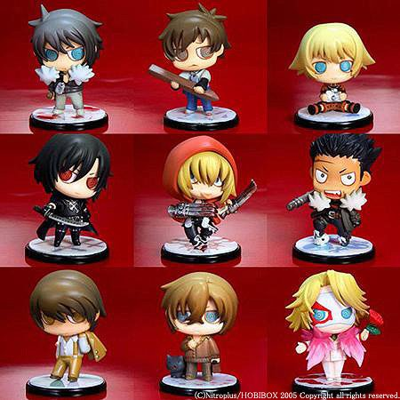 es Series One Coin Figure Togainu no Chi Box / Figure/Doll