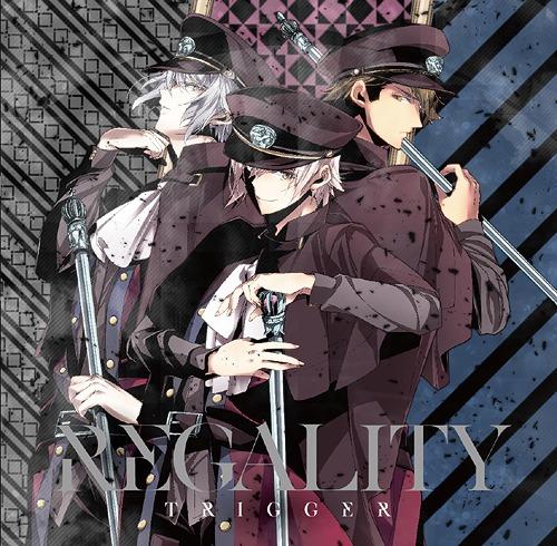 """""""IDOLiSH7 (App Game)"""" TRIGGER 1st Full Album """"REGALITY"""" / TRIGGER [Ten Kujo (Soma Saito), Gaku Yaotome (Wataru Hatano), Ryunosuke Tsunashi (Takuya Sato)]"""