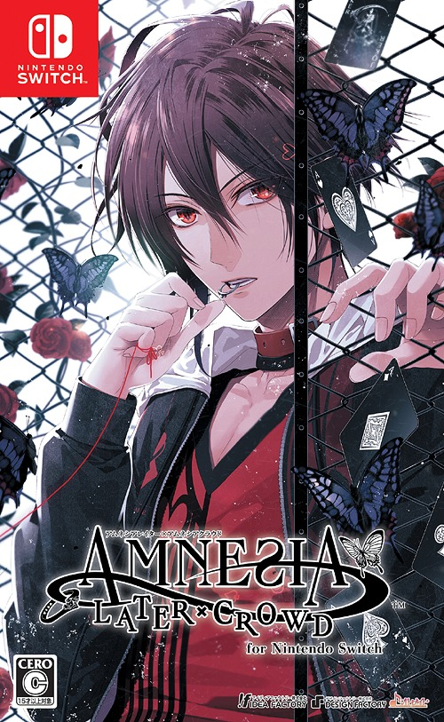 AMNESIA LATER X CROWD for Nintendo Switch / Game