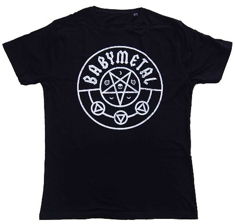 Official Band T-shirt: PENTAGRAM / BABYMETAL