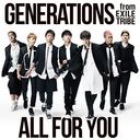 All For You / GENERATIONS from EXILE TRIBE